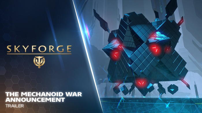 THE MECHANOID WAR EXPANSION INVADES SKYFORGE ON PLAYSTATION 4 THIS JUNE 27