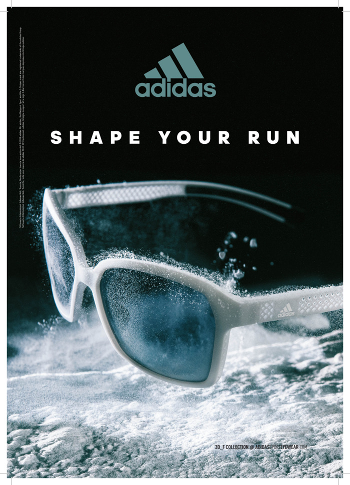 adidas Sport eyewear // 3D_F: Evolver & Aspyr & 3D_X: Tempest, Protean, Proshift - augustus 2018