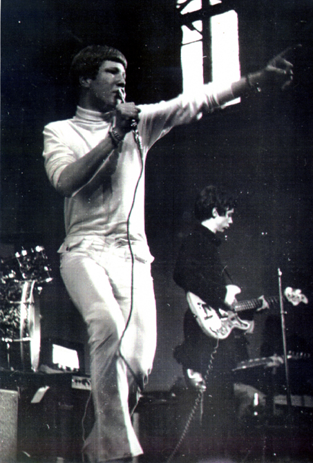Richard Macphail - lead singer of Anon in the 1960s