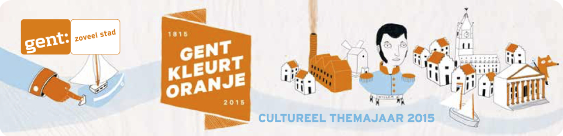 Gentse cultuurhuizen in oranjegekte