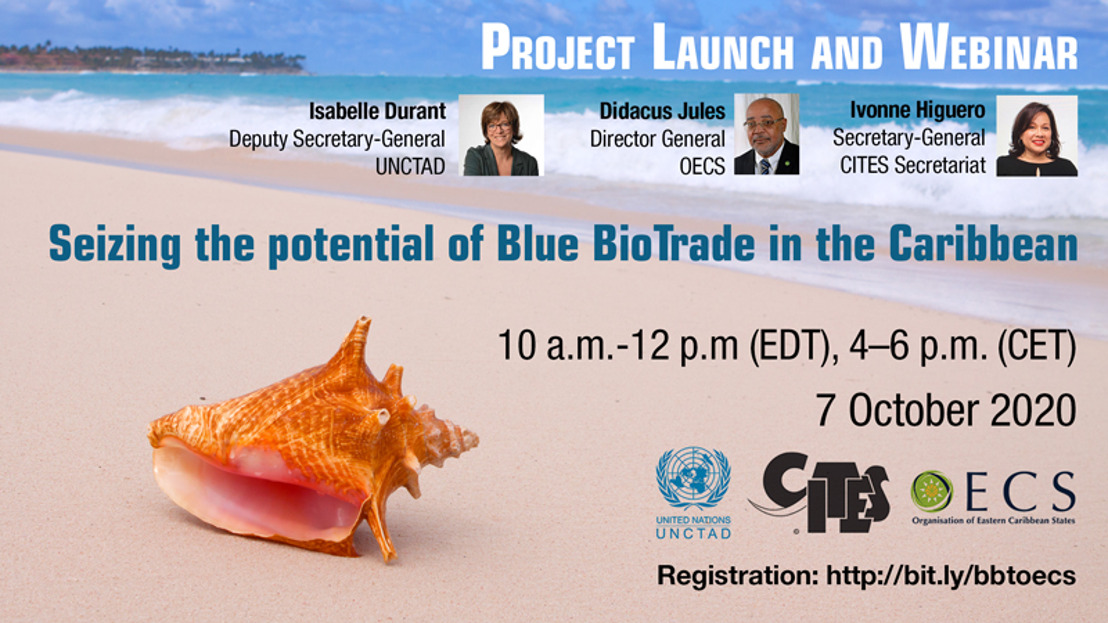Project Launch and Webinar: Seizing the trade and business potential of Blue BioTrade in selected OECS countries