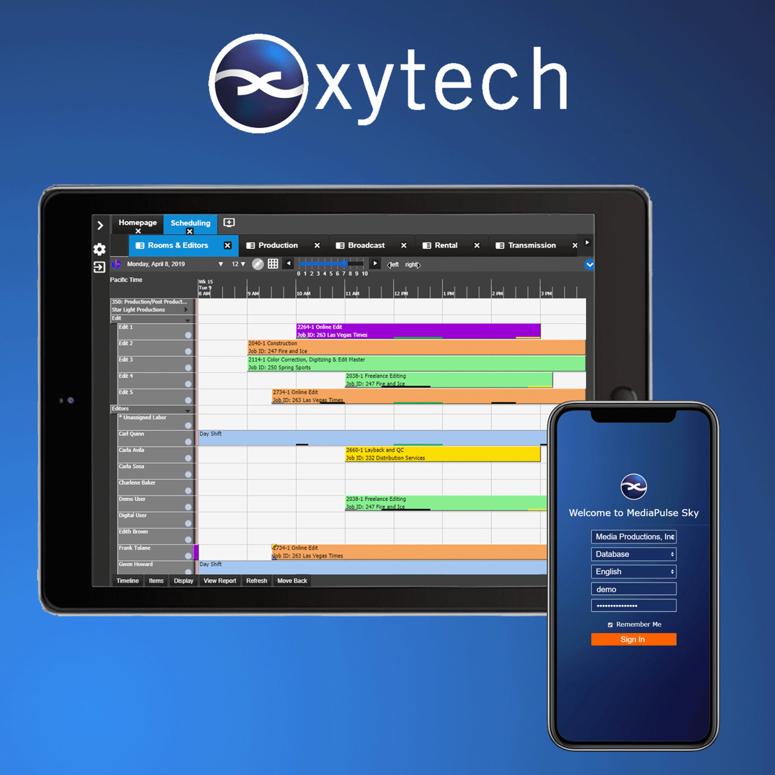IBC 2019: Xytech Debuts New User Interface and Upgrades to MediaPulse, Providing Targeted Functionality to All Users