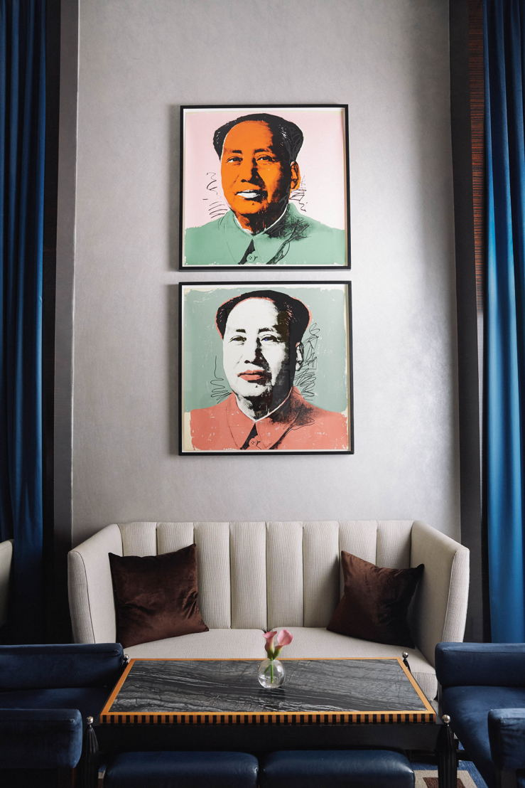 """MAO"" (1973) by Andy Warhol"
