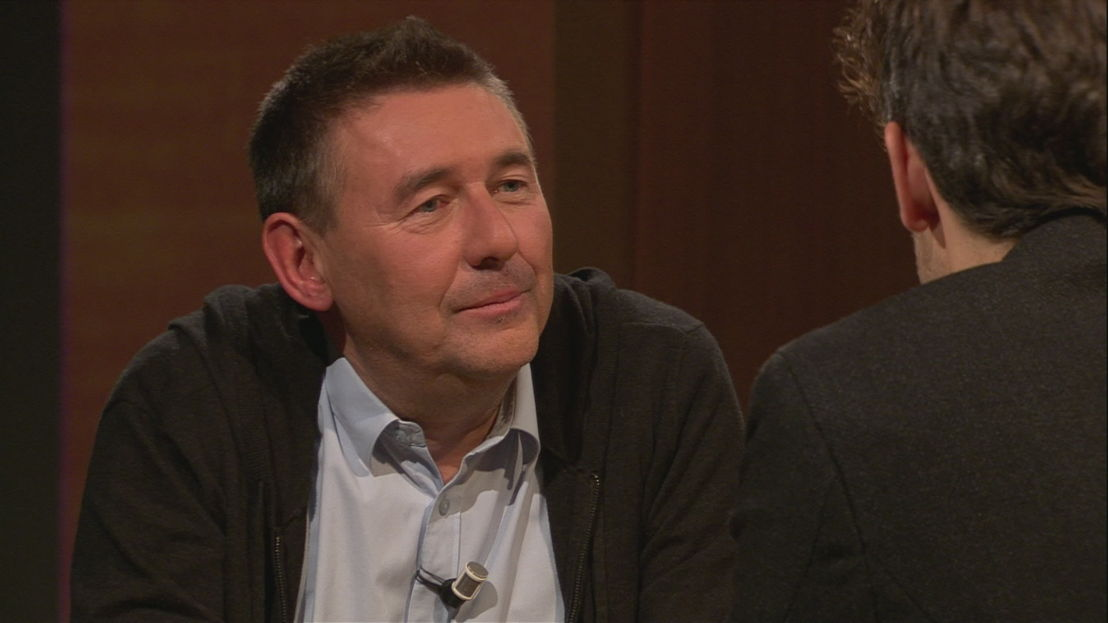Rudi Vranckx en Thomas Vanderveken - (c) VRT