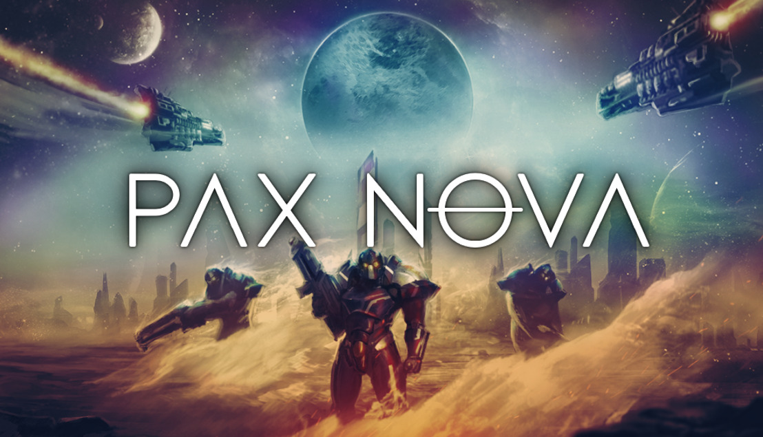 🚀4X SCI-FI STRATEGY GAME PAX NOVA OUT TODAY🌘