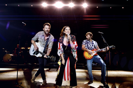 """Lady A show """"What A Song Can Do"""" on their multi-city tour, with new Sennheiser MM 445 capsules"""