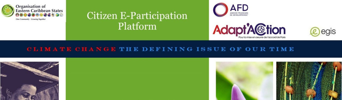 Climate Change: OECS-AFD Launch E-Participation Survey