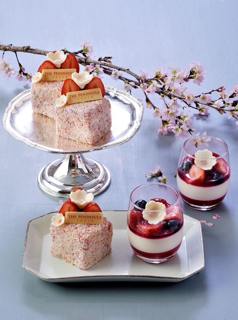 The Peninsula Tokyo: Sakura Sweets Group Shot