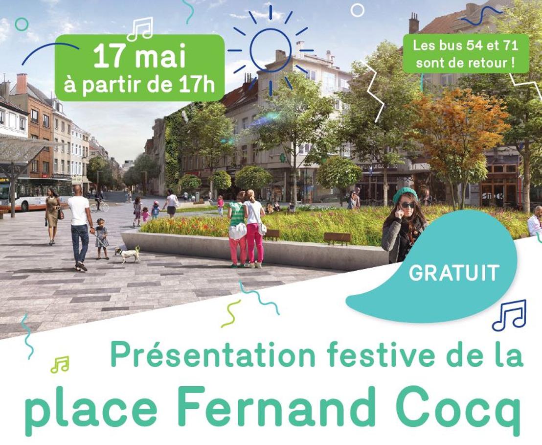 Invitation de presse : Présentation de la nouvelle place Fernand Cocq