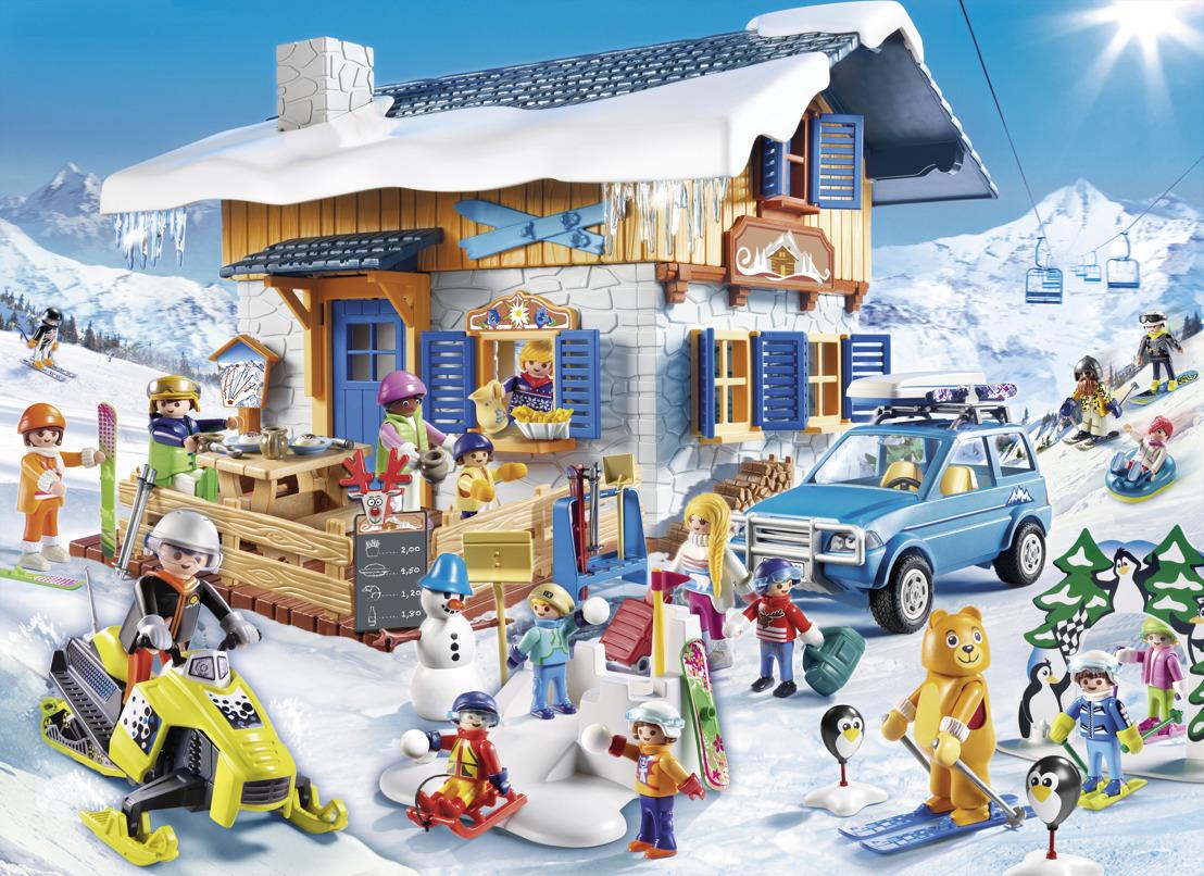 Les plaisirs de la neige avec PLAYMOBIL