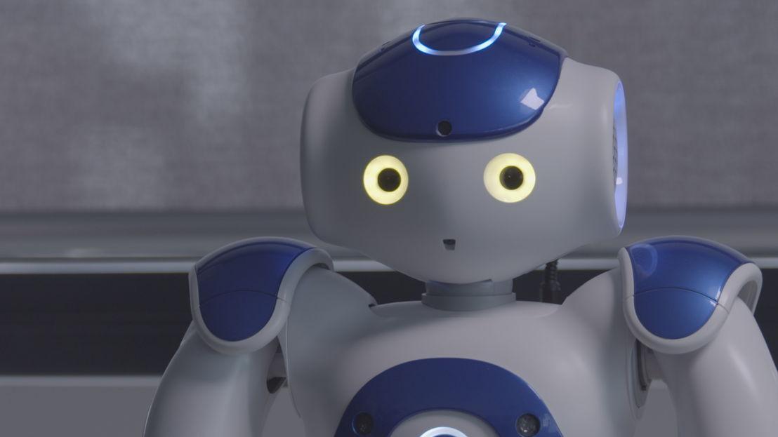 The AI Race - robot