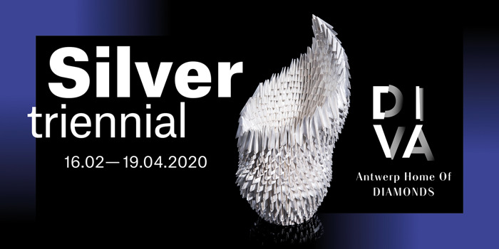 Ab 16. Februar 2020: 19. Silbertriennale im Museum DIVA Antwerpen