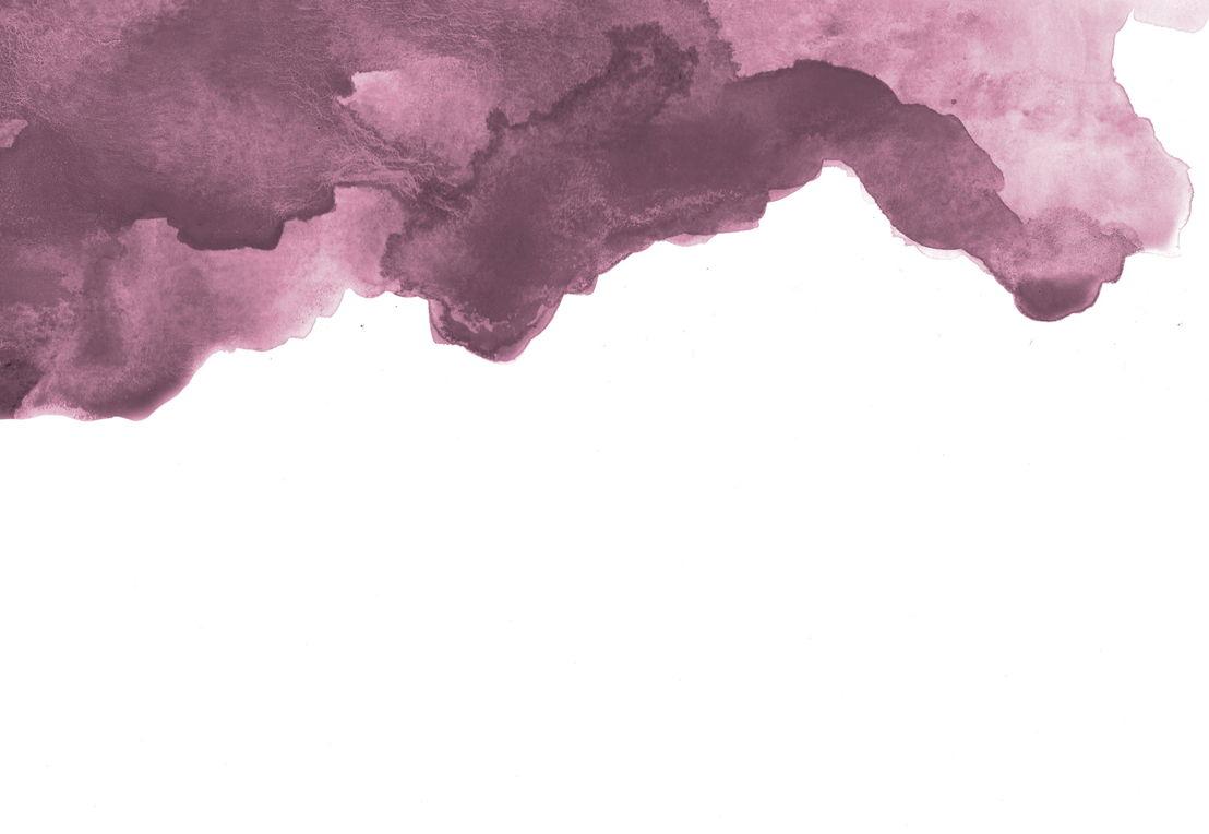 Dusky Purple Watercolour - Swatch