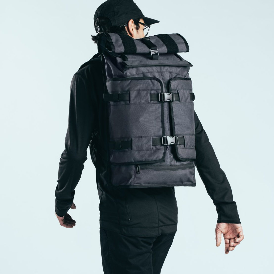 Weatherproof backpack for urban / cycling