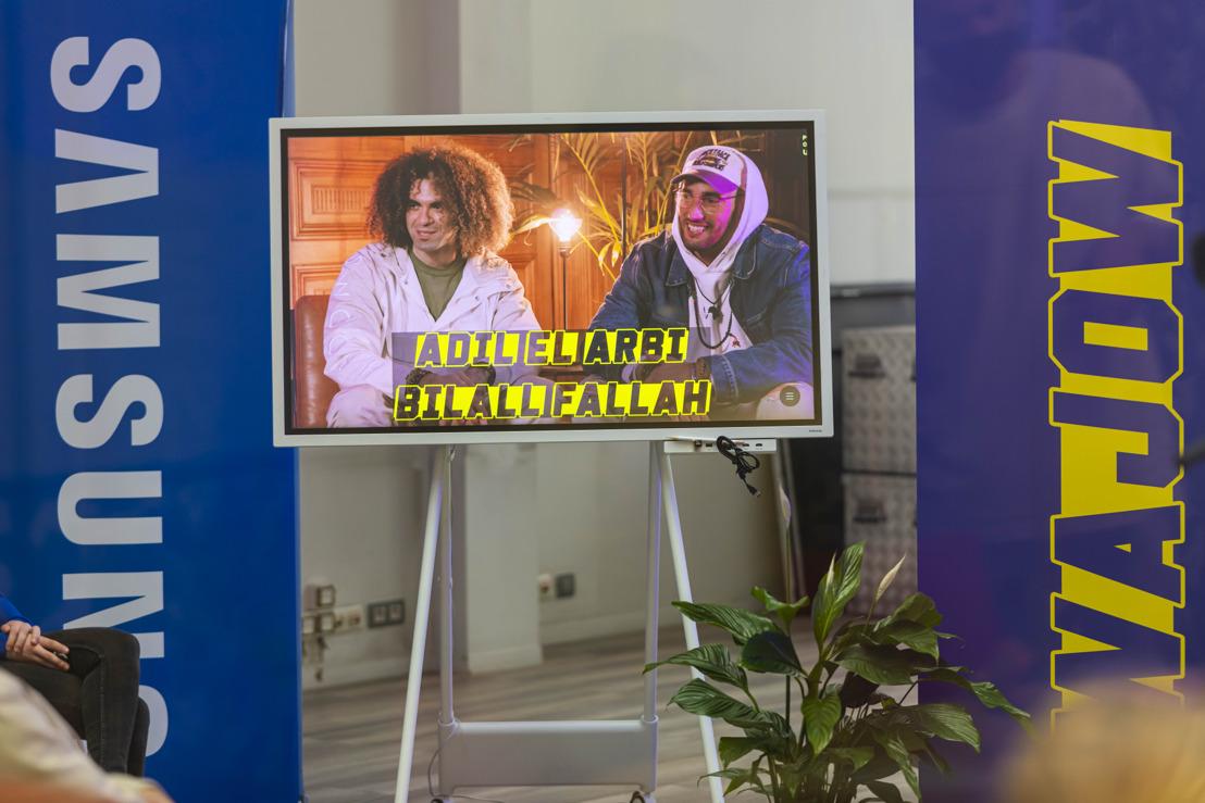 Adil El Arbi & Bilall Fallah leren jongeren clips en docu's maken met smartphone