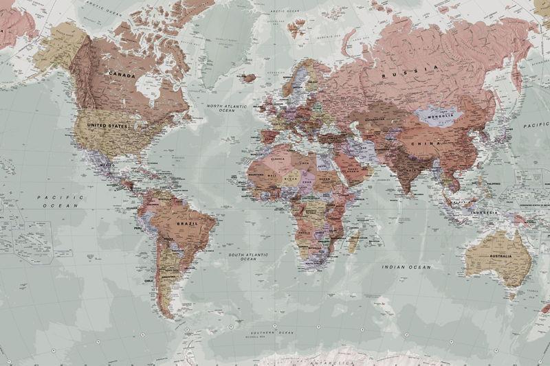 Classic World Map