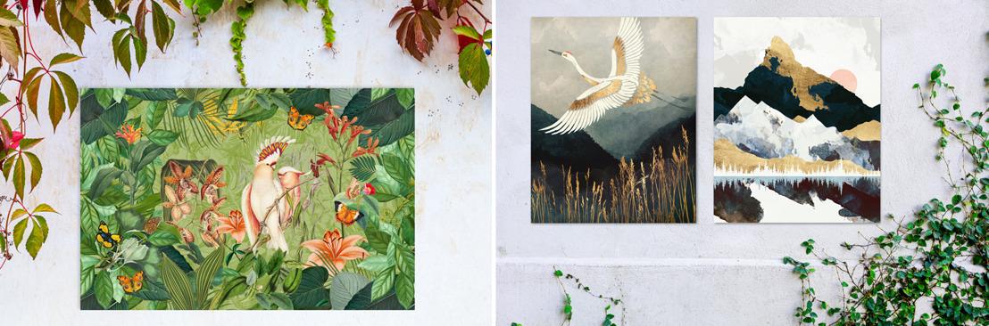 NEW Garden Wall Art from Wallsauce.com