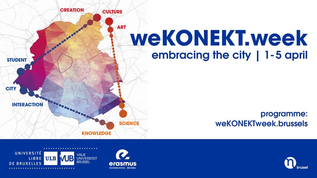 VUB lanceert tweede editie van de weKONEKT.week