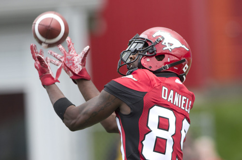 REMINDER: MEDIA CONFERENCE CALL WITH MEMBERS OF THE CALGARY STAMPEDERS AND HAMILTON TIGER-CATS TODAY