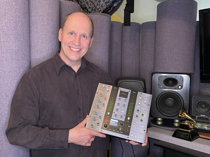 Seven-Time Grammy Winning Engineer Brian Vibberts Takes Hybrid Mix Set Up to Next Level with UC1 SSL Plug-in Controller