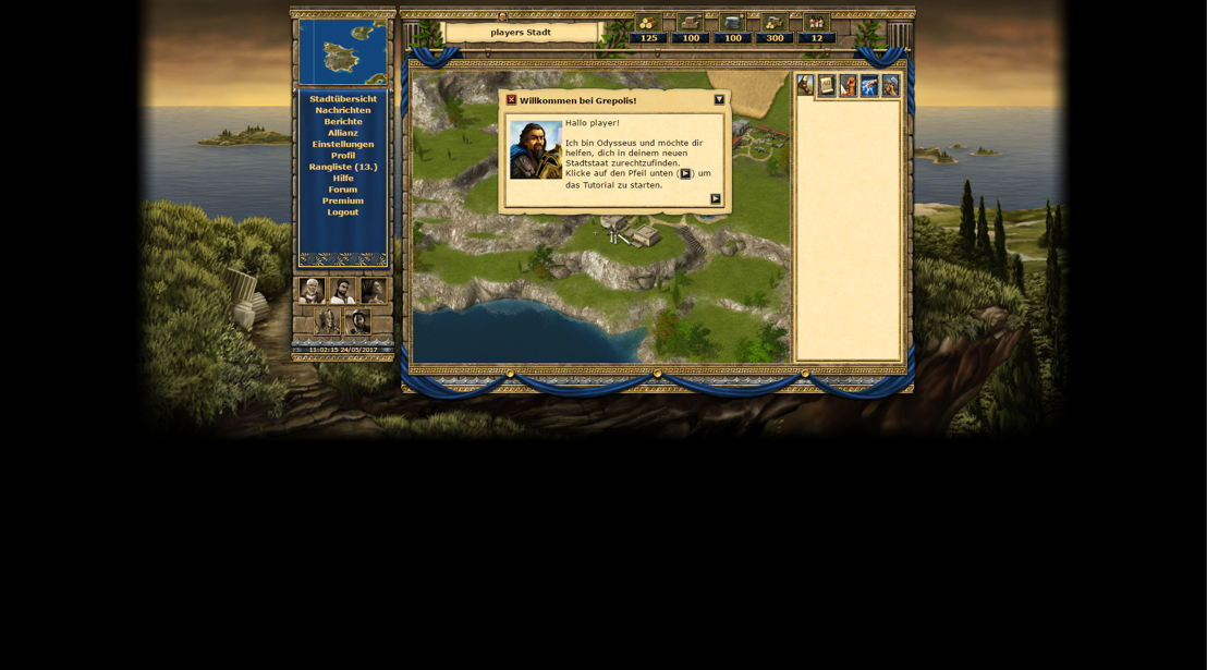 Grepolis classic version (2)