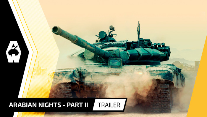 "ARMORED WARFARE ""ARABIAN NIGHTS – PART II"" AVAILABLE ON PC"