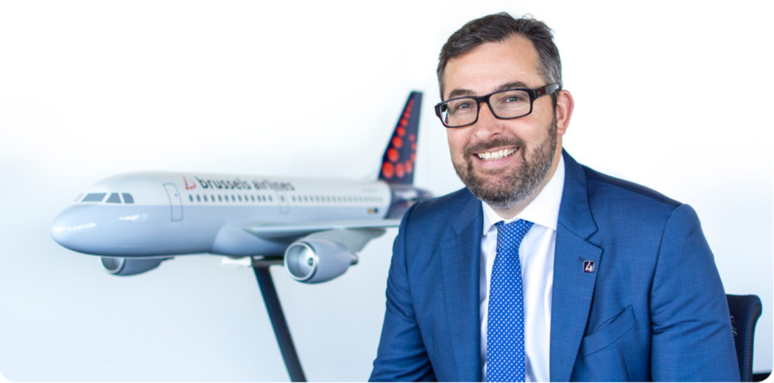 Simon Lamkin dirige « IT & Innovation » chez Brussels Airlines