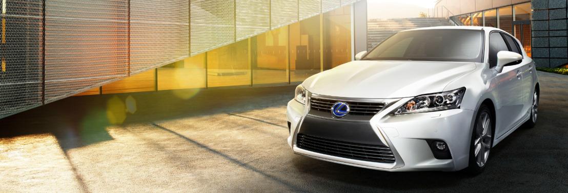 Première mondiale de la nouvelle Lexus CT 200h au Salon de Guangzhou