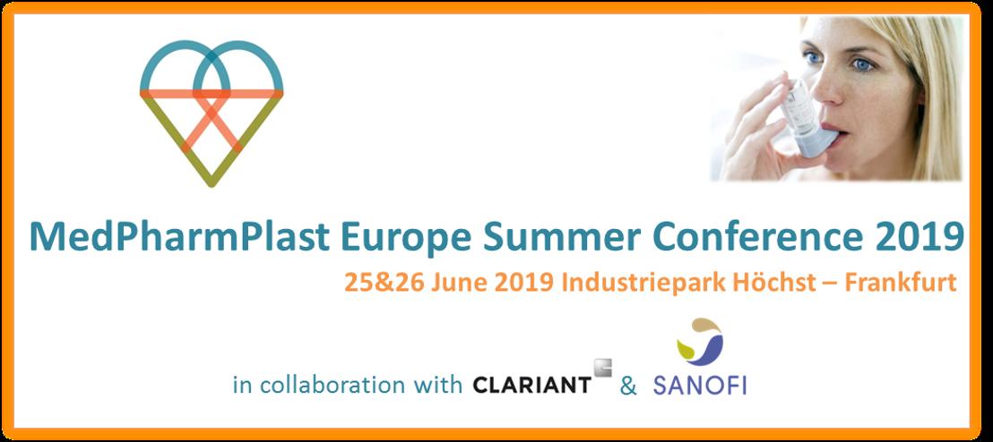 MedPharmPlast Europe Summer Conference 2019 - Last week to register!