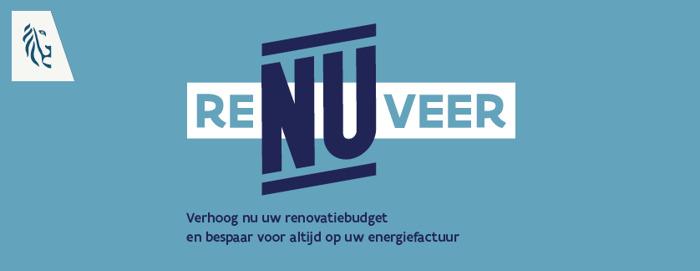 Vlaamse overheid en The Oval Office roepen Vlamingen op om te reNUveren