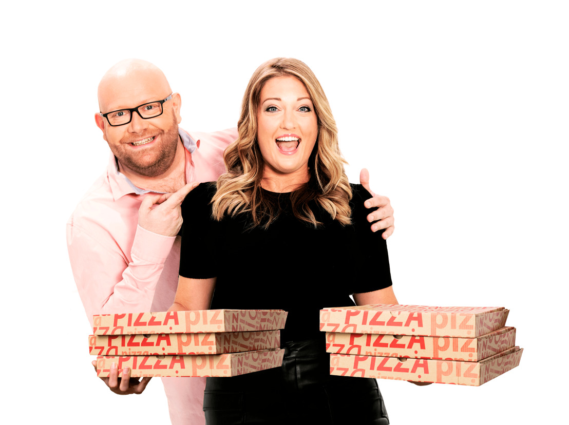 NRJ livre la pizza des héros !