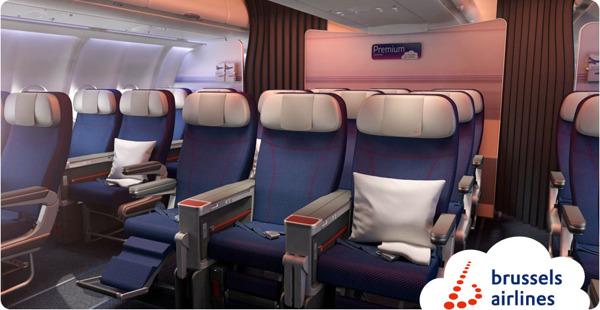 Preview: Brussels Airlines lance la vente de sa nouvelle classe « Premium Economy » sur les vols long-courriers