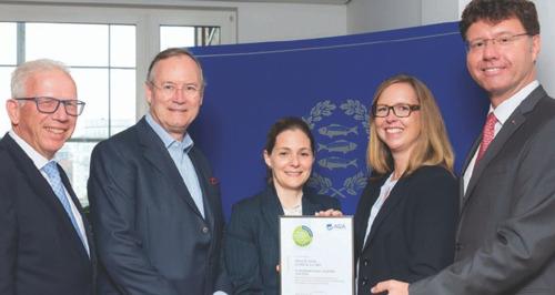 Jebsen & Jessen Hamburg is a 'Recognised Good Trainer'