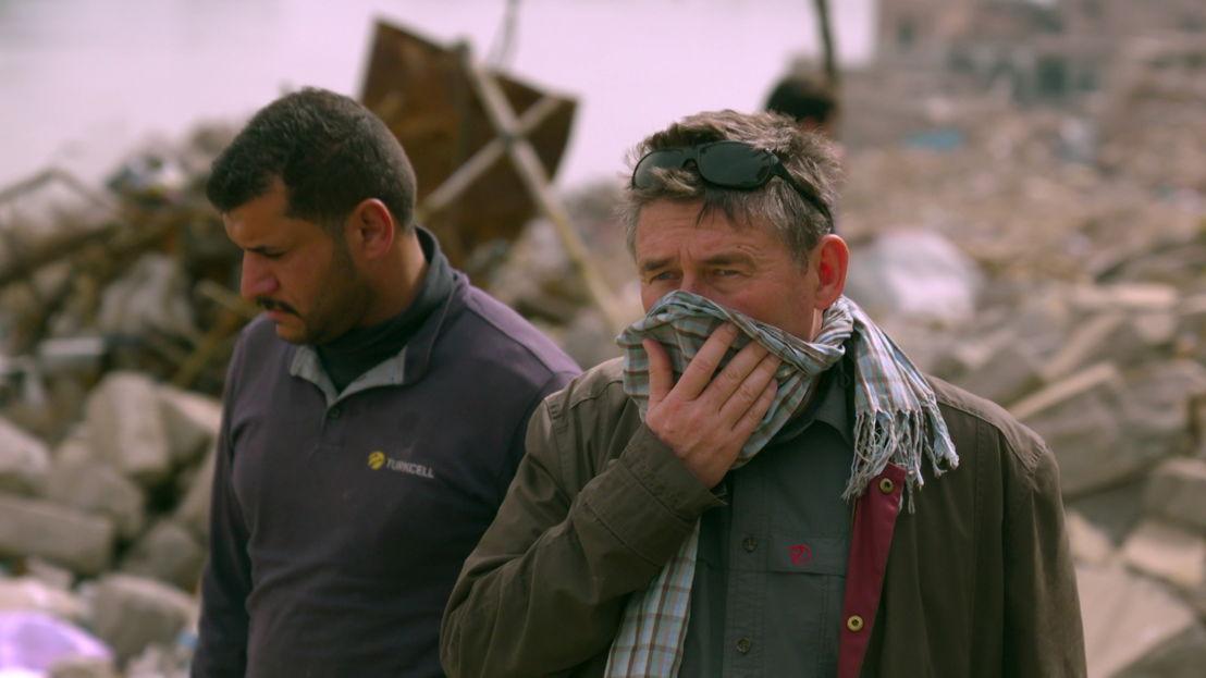 VDZVDV - aflevering 1 : Rudi Vranckx in Mosul - (c) VRT