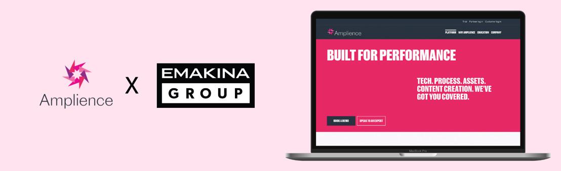 Emakina adopte Amplience pour donner la main à ses clients sur la création de contenu