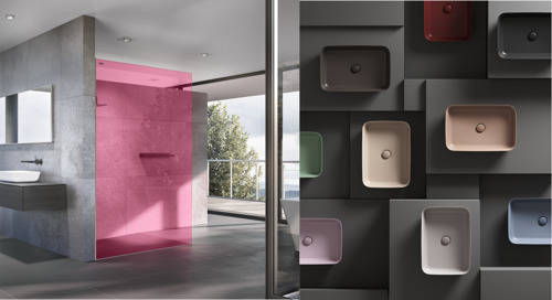 In 2020, de badkamer is flitsend en vol energie