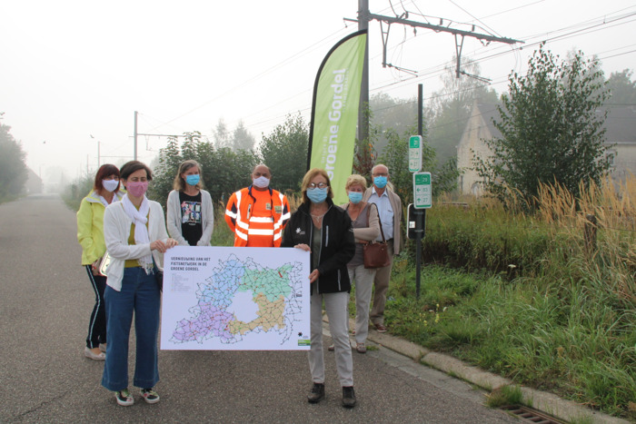 Start vernieuwing fietsnetwerk in de Groene Gordel
