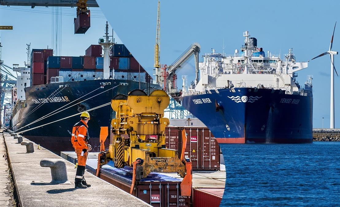 Les ports d'Anvers et de Zeebruges unissent leurs forces