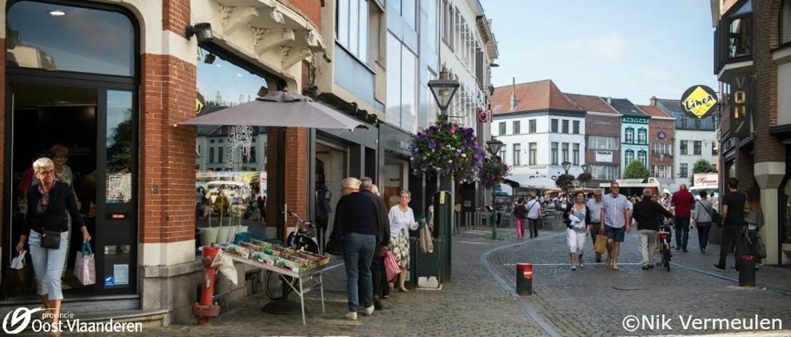 Provincie Oost-Vlaanderen ondersteunt de detailhandel