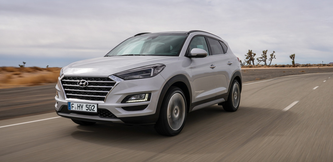 Nouvelle édition d'un bestseller: Hyundai présente le face-lift pour Tucson