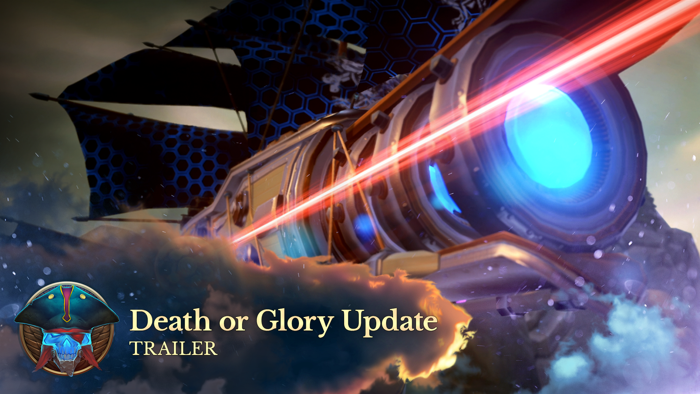 DEATH OR GLORY UPDATE AVAILABLE FOR CLOUD PIRATES
