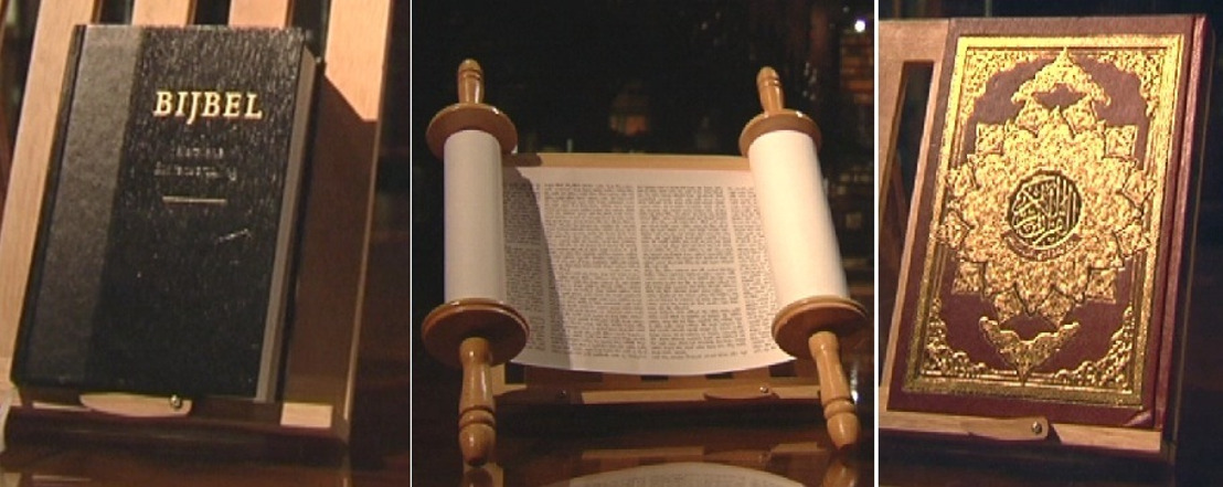 Karrewiet Plus over heilige boeken: Bijbel, Thora en Koran