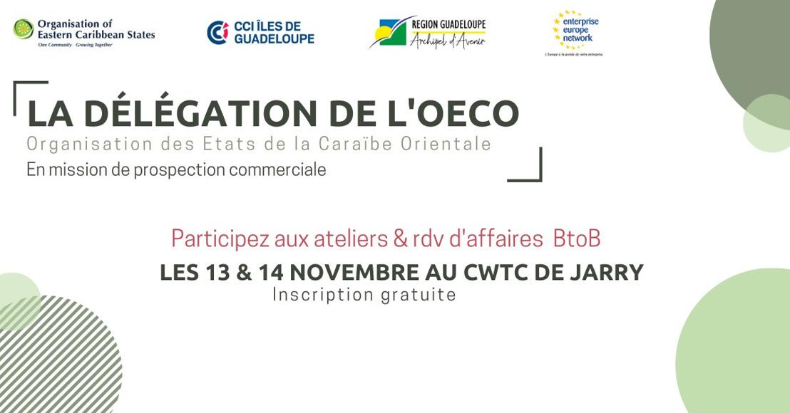 Mission de prospection de l'O.E.C.O en Guadeloupe