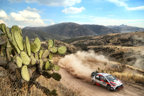 WRC Rally Mexico Preview - TOYOTA GAZOO Racing hopes to reach new heights in Mexico
