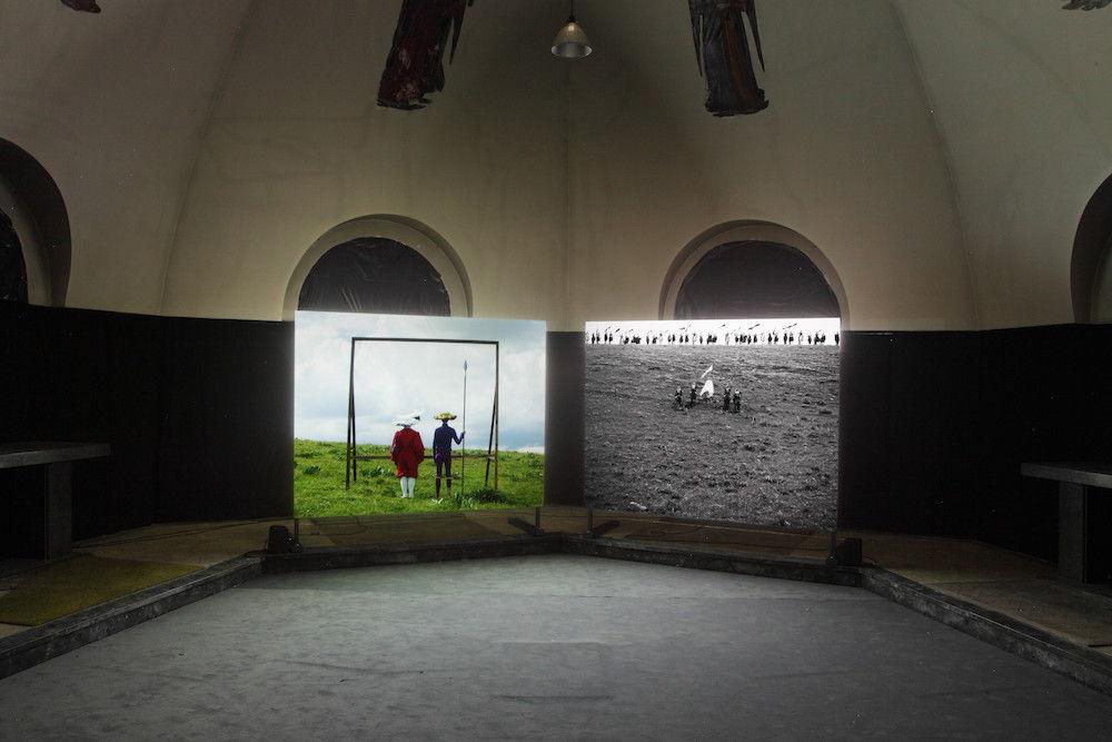 Tracing the Future met de film Münster van Martin Le Chevallier<br/>(c) Dirk Pauwels