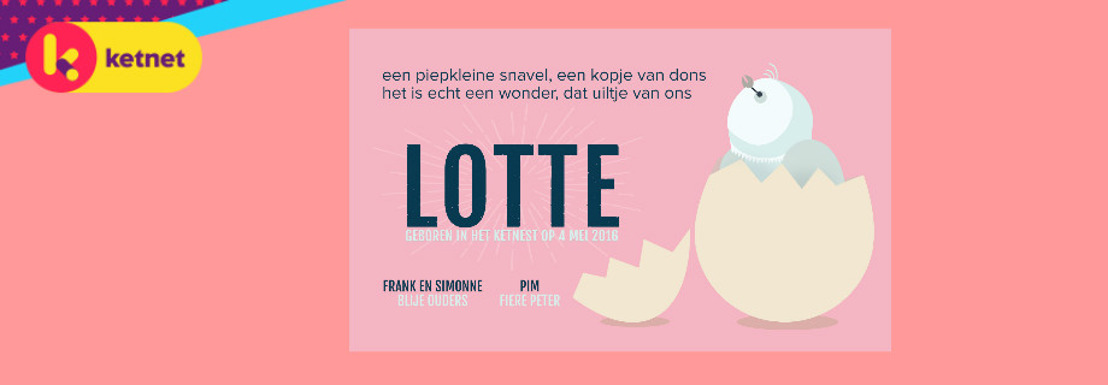 Frank en Simonne verwelkomen dochter Lotte