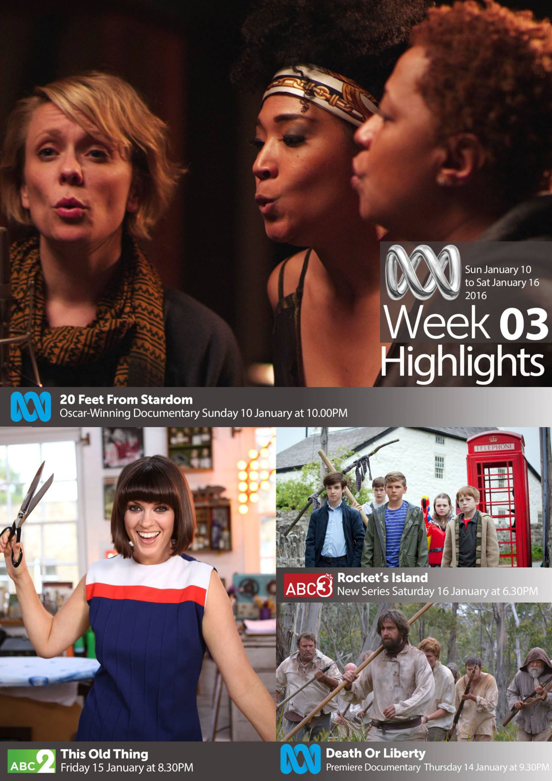 ABC TV Highlights - Week 3
