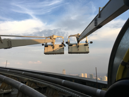 Cleaning Giants: MHE-Demag Installs Southeast Asia's First Full Climbing Building Maintenance System in Jakarta's Third Tallest Building