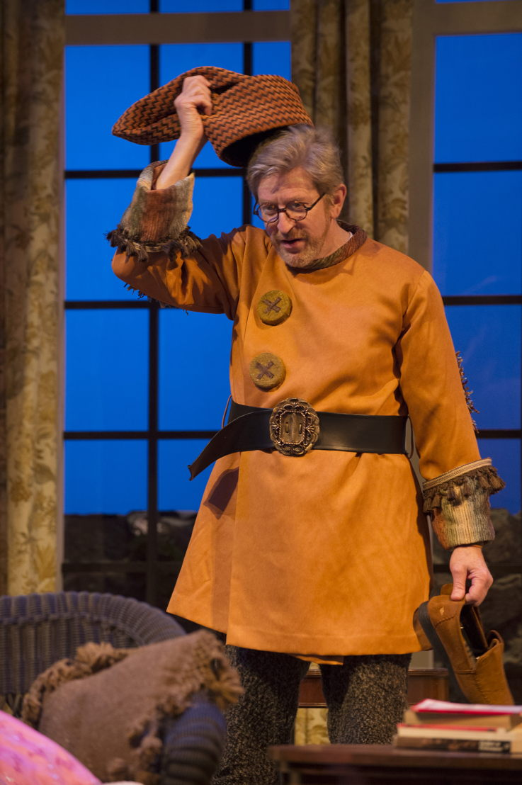 R.H. Thomson in Vanya and Sonia and Masha and Spike by Christopher Durang / Photos by David Cooper