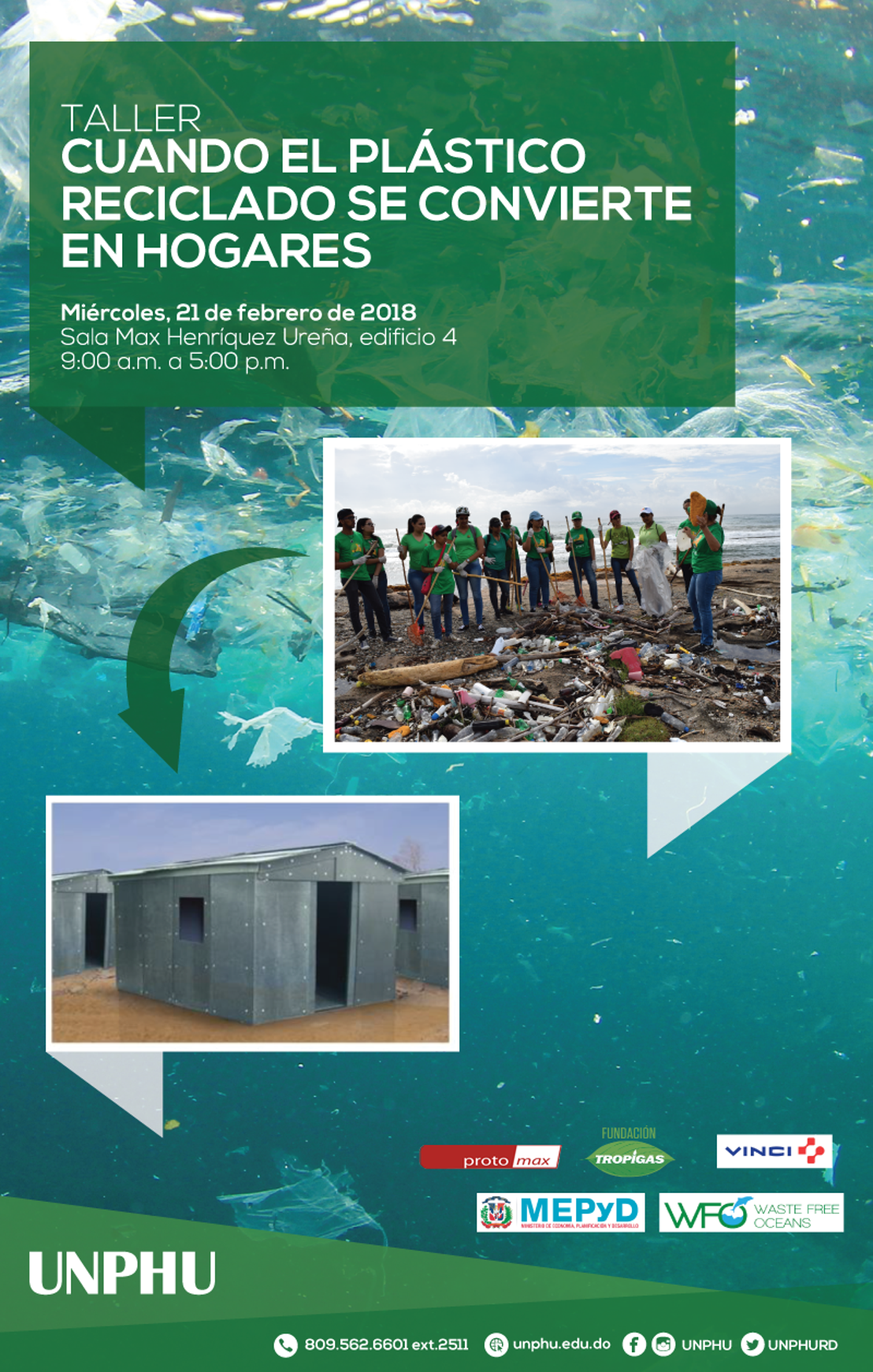 """Register Now: WFO seminar """"When recycled plastic becomes homes"""""""